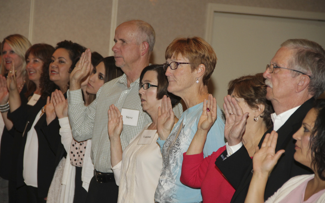 Swearing-in Ceremony for New Volunteer Advocates